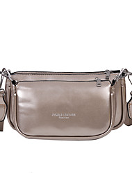cheap -Women's Bags Crossbody Bag Daily Date 2021 MessengerBag White Black Red Champagne