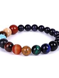 cheap -Women's Bead Bracelet Beads Fashion Stylish Boho Stone Bracelet Jewelry Rainbow For Gift Festival