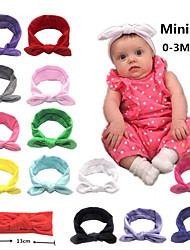 cheap -european and american children's headband elastic cloth bunny ears headband baby headwear butterfly hair accessories bunny ears headband
