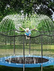 cheap -Trampoline Sprinkler for Kids, Summer Outdoor Toys Sprinkler, Backyard Waterpark Kids Sprinkler, Water Games Toys, Sprinkler for Kids, Trampoline Accessories (39 ft, Black)