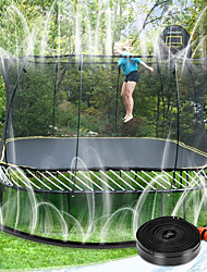 cheap -Trampoline Sprinkler, Thickened Trampoline Water Play Sprinkler for Kids, Fun Summer Outdoor Water Park Toys, New Upgrade Connector Trampoline Accessories(39ft)