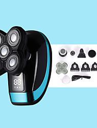 cheap -Electric Shaver Razor Rechargeable Razor Washing 5 Heads Bald Machine