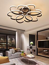 cheap -LED Ceiling Light Black 72 cm Circle Design Flush Mount Lights Aluminum Artistic Style Stylish Painted Finishes Artistic LED 220-240V