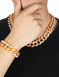 cheap -Jewelry Set Casual / Sporty Earrings Jewelry Silver / Gold For Festival 1 set