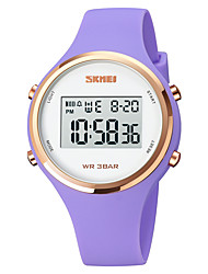 cheap -SKMEI Kids Digital Watch Digital Digital Stylish Fashion Water Resistant / Waterproof Calendar / date / day Luminous