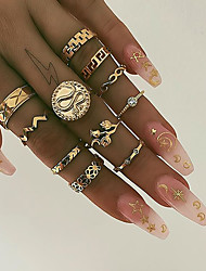 cheap -joint rings aliexpress explosive snake-shaped resin geometric 10-piece set