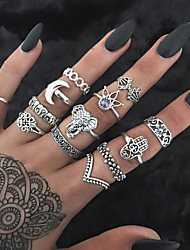 cheap -Multi Finger Ring Geometrical Gold Silver Alloy Animal Precious Vintage 1 set One Size / Women's