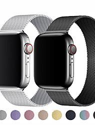 cheap -Watch Band for Apple Watch Series 6/SE/5/4/3/2/1 Apple Milanese Loop  Wrist StrapMagnetic Loop Strap For apple watch Band Stainless steel Metal belt correa bracelet