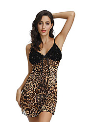 cheap -Women's Bras & Panties Sets G-strings & Thongs Panties Sheer Solid Super Sexy Backless Chemises & Gowns