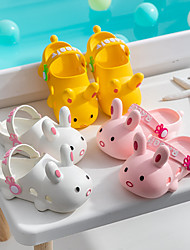 cheap -Children's Slippers Summer Indoor Non-Slip Cartoon Cute Female Baby Bathroom Bath Non-Slip Slippers Male Baby Wholesale