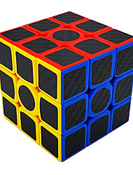 cheap -MoYu Magic Cube Puzzles (3x3) with Carbon Fiber Anti-Slip Stickers, Anti-Pop Structure, Speed & Smooth