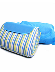cheap -KORAMAN Camping Pad Picnic Blanket Outdoor Camping Moistureproof Insulated Convenient EPE Foam 200*200 cm for 3 - 4 person Camping / Hiking Camping All Seasons Sky Blue+White