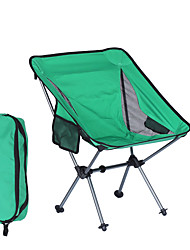 cheap -Camping Chair with Side Pocket Portable Ultra Light (UL) Foldable Washable Aluminum Alloy Oxford for 1 person Fishing Camping Camping / Hiking / Caving Outdoor Autumn / Fall Spring Green