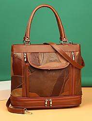 cheap -Women's Bags Satchel Top Handle Bag Daily 2021 Handbags Black Red Brown Coffee
