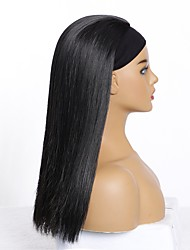 cheap -european and american wigs, women's long straight hair wigs, chemical fiber high temperature silk wigs, factory straight