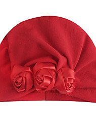 cheap -2019 new european and american children's hats baby solid color rose pack stretch indian hoods amazon wholesale