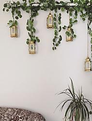 cheap -Artificial Plants Fabric Modern Vine Wall Flower Eucalyptus 200cm