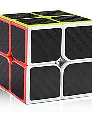 cheap -MoYu Carbon Fiber 2x2 Speed Cube 2x2x2 Magic Cube Puzzle Toys for Kids