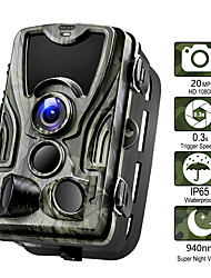 cheap -Hunting Camera 20MP Trail Camera Night Vision Forest Waterproof Camera Photo Traps Camera Chasse Scouts 2'' LCD 36pcs IR LEDs 120° Detecting Range  3 Infrared Sensors