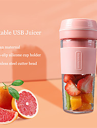 cheap -2021 new 7.4v  wireless electric blender portable juicer usb rechargeable fruit mixer cup smoothie maker bpa free food processor