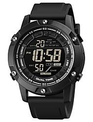 cheap -SKMEI Men's Sport Watch Digital Digital Sporty Modern Style Calendar / date / day Chronograph Alarm Clock / One Year / Silicone