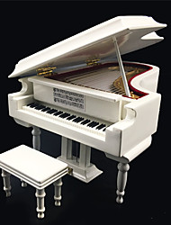 cheap -Music Box Piano with Bench 1 pcs Gift Home Decor Plastic For Kid's Adults' Boys and Girls
