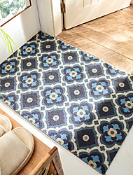 cheap -PVC Non-Slip Floor Mat Entry Mat Can Be Easily Washed Stretch Silk Ring Nordic Style Home Foot Mat Cut Indoor Outdoor  (Size  45*75cm)