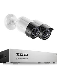 cheap -ZOSI 8CH 1080P Security Video DVR Kit 2MP Camera CCTV Surveillance System Night Vision Waterproof HDD Hard Disk Drive 2TB Motion Detection Remote Access TVI CVI AHD Analog