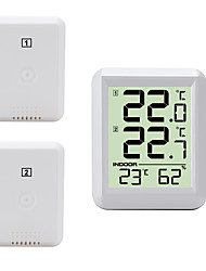 cheap -TS-FT0421 Portable / Multi-function Hygrometers Measuring temperature and humidity, LCD backlight display