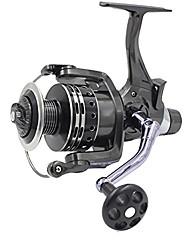 cheap -isafish carp reels baitrunners front rear double drag force hand brake aluminium spool carp fishing bait runner reel 5000 series