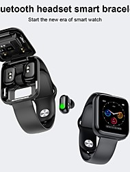 cheap -X5 Smartwatch for Apple/ Android Phones, with Wireless Headsets Sports Tracker Support Heart Rate / Blood Pressure Measure