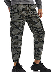 cheap -Men's Hunting Pants Ventilation Wearproof Comfortable Fall Spring Camo / Camouflage Cotton for Green Coffee S M L XL XXL