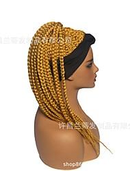 cheap -new braid wig fashion wig long hair chemical fiber high temperature silk headscarf wig