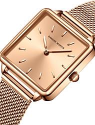 cheap -HANNAH MARTIN Women's Steel Band Watches Analog Quartz Stylish Luxury Water Resistant / Waterproof