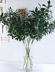 cheap -10 Forks Olive Branch With Fruit Flower Imitation Botanical Bouquet 103*35cm