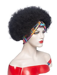 cheap -european and american hair band wig new product hair band wig female african small roll turban wig headgear fluffy explosive head