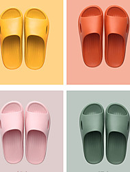 cheap -Source Factory Wholesale Spot Household Slippers Female Summer Couple Indoor Home Non-Slip Bathroom Bath Sandals And Slippers