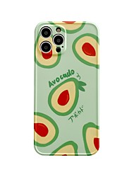 cheap -Phone Case For Apple Back Cover iPhone 12 Pro Max 11 SE 2020 X XR XS Max 8 7 Shockproof Dustproof Food TPU