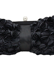 cheap -caiyue bowknot shaped rose flower clutch evening bag annual party party clutch dress bag cheongsam bag i06