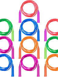 cheap -10 Pack Jump Rope Set Colorful Outdoor Jump Ropes 7.3 Feet Jumping Ropes Great Birthday Party Sports Activities Favors Gift