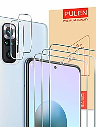 cheap -Phone Screen Protector For Xiaomi Mi Note 10 Mi Note 10 Pro Mi Note 10 Lite Tempered Glass 5 pcs High Definition (HD) Scratch Proof Front Screen Protector Phone Accessory