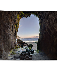cheap -Wall Tapestry Art Decor Blanket Curtain Hanging Home Bedroom Living Room Decoration Polyester Sandy Beach