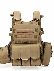 cheap -lilico tactical vest softair vest waterproof airsoft tactical vest barbarians adjustable combat vest for camping hiking cs field outdoor combat training