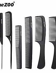 cheap -6pcs set professional hair brush comb salon barber anti-static hair combs hairbrush hairdressing combs hair care styling tools