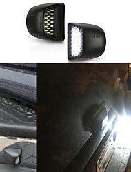 cheap -OTOLAMPARA 18W LED License Plate Light for Chevrolet Avalanche 1999-2013 Year High Bright Lightness IP67 Waterproof OEM Design Number Plate Lamp for Chevrolet 2pcs