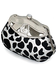 cheap -Women's Bags Top Handle Bag Zebra Print Daily Handbags Silver