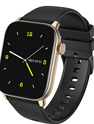 cheap -KW76 Smartwatch Fitness Running Watch Bluetooth Pedometer Sleep Tracker Sedentary Reminder Media Control Camera Control Custom Watch Face IP68 43mm Watch Case for Android iOS Men Women