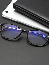 cheap -Men's And Women's Anti-Blue Light Reading Glasses Ultra Light TR90 Metal Temples Reading Glasses HD Resin Reading Glasses Men And Women