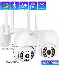 cheap -double light dome camera wifi smart monitor two-way voice intercom ptz control black light full color night vision