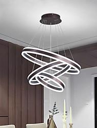 cheap -LED Pendant Light Circle Ring Design 80cm Aluminum Brushed LED 110-120V 220-240V